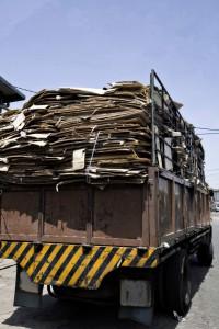 LKW Beispiel für eine Ladungssicherung
