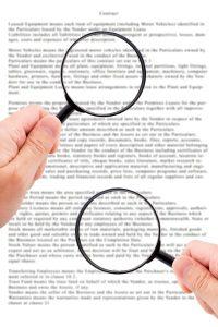 Der Anhörungsbogen beinhaltet u. a. eine Vorwurfsbeschreibung.