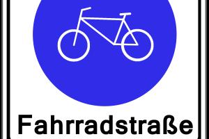 Gemäß dem Bußgeldkatalog für das Fahrrad, dürfen Autos nur bei zusätzlicher Beschilderung die Fahrradstraße befahren.