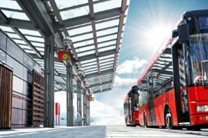 Die Busspur dient der Entlastung des öffentlichen Nahverkehrs in Groß- und Innenstädten.