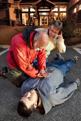 Erste Hilfe beim Unfall