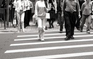 Vergehen, auch von Fußgängern am Fußgängerüberweg werden besonders hart bestraft.