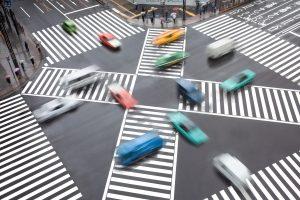 Die Induktionsmessung wird nicht selten im Straßenverkehr verwendet.