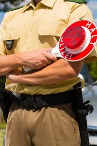 Polizeikontrollen können jederzeit und überall stattfinden