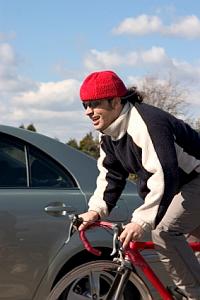 Schneller mit dem Fahrrad: Die Geschwindigkeit mancher Fahrer ist beeindruckend.