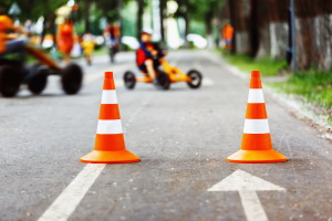 Verkehrsberuhigter Bereich: Wer zu schnell ist, muss mit Sanktionen rechnen.