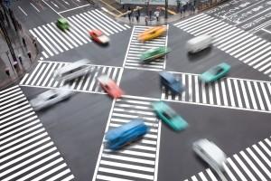Auch Fußgänger sollten Vorsicht am Zebrastreifen walten lassen und sich erst einen Überblick über den Verkehr verschaffen.