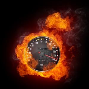 Autofahrer neigen dazu, zu schnell in der 30er Zone unterwegs zu sein